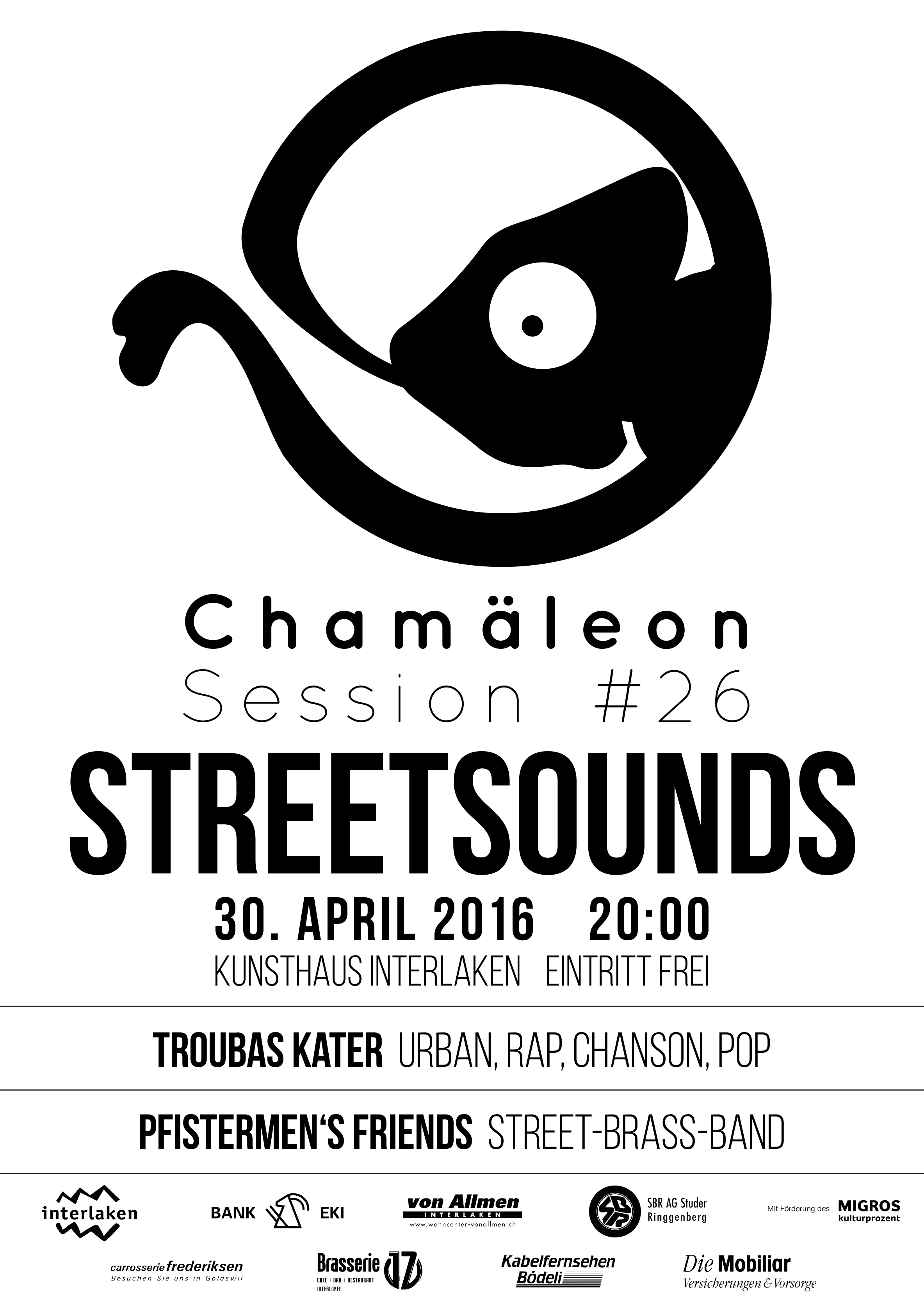 Plakat-Chamäleon-Sessions-STREETSOUNDS