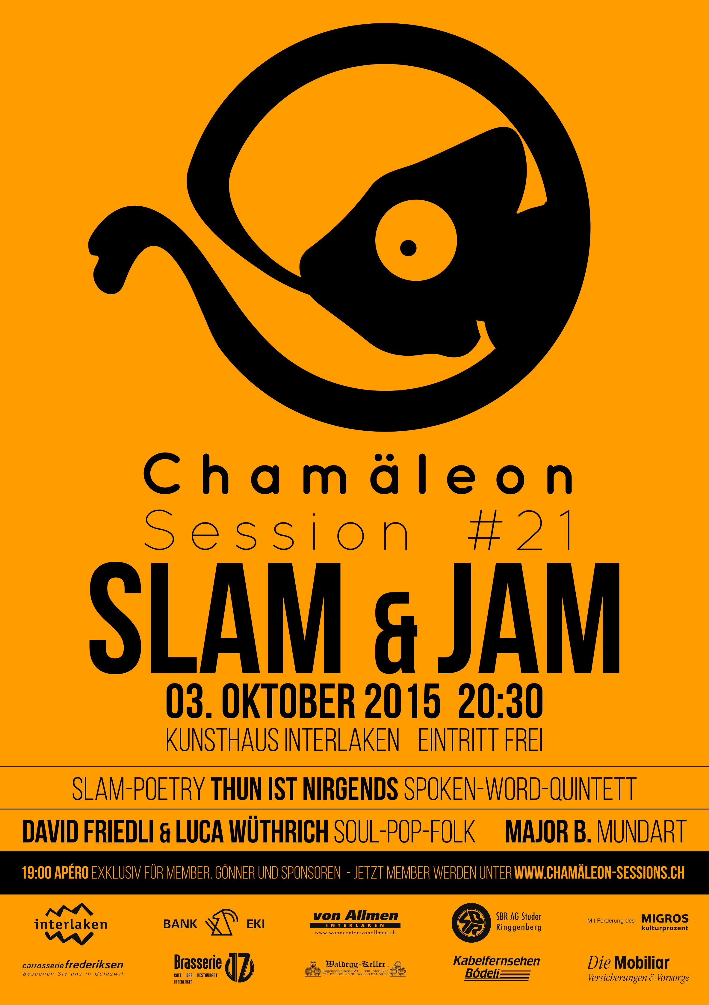 Plakat-Chamäleon-Session21-Slam-Jam